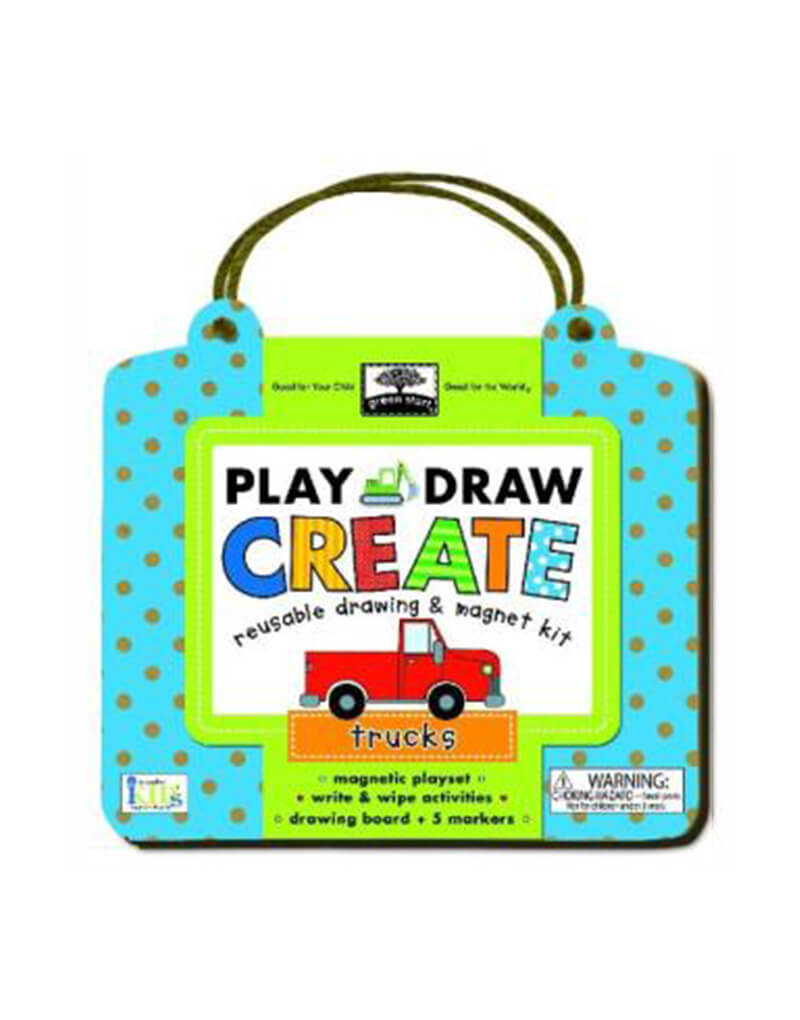 Play and Draw: Trucks