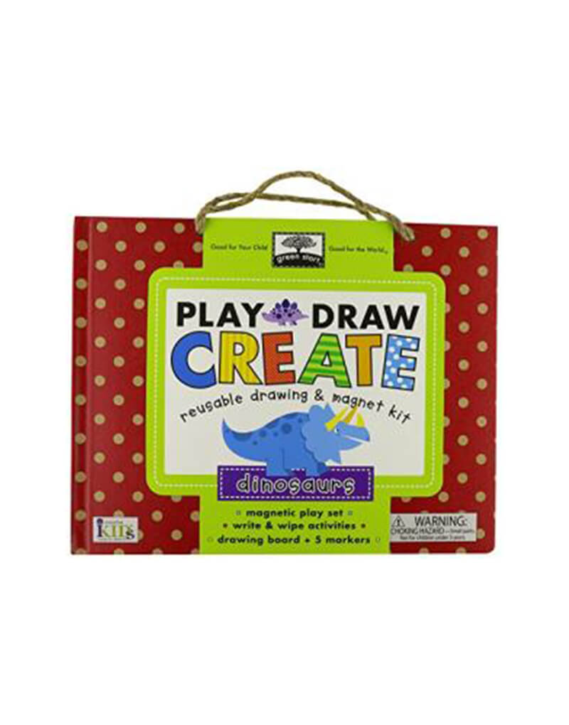 Play and Draw: Dinosaurs