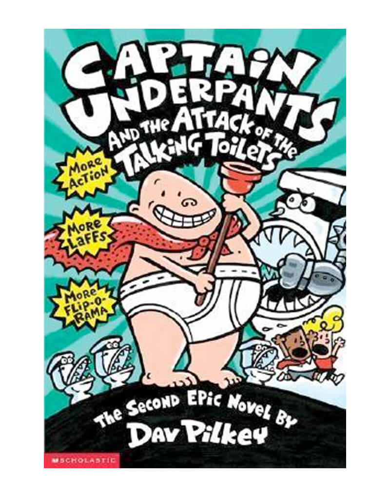 Cap. Underpants and the attack of the talking toilets